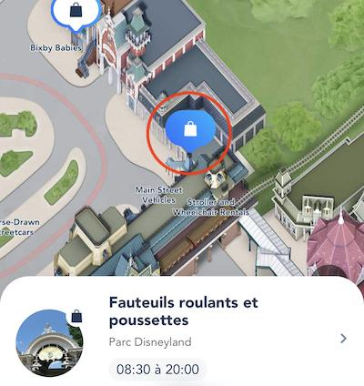 Location poussette disneyland paris