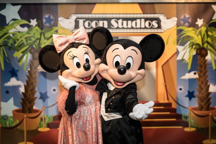 Mickey et minnie jazz