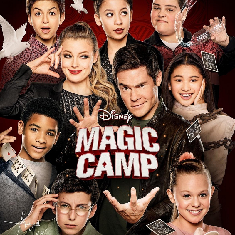 Miniature magic camp