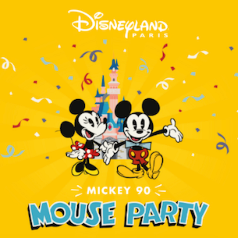 Miniature mickey 90 mouse party