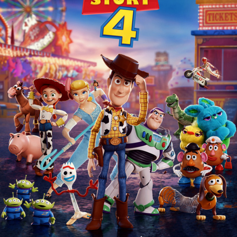 Miniature toy story 4 revient au cinema