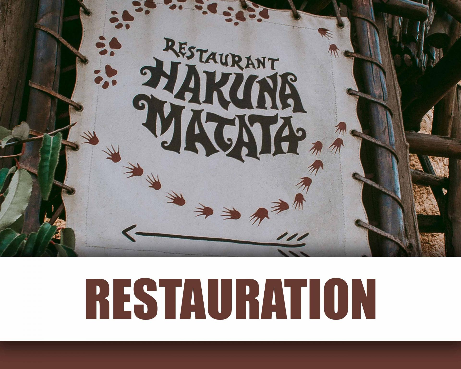 Restauration et Restaurants Disneyland Paris