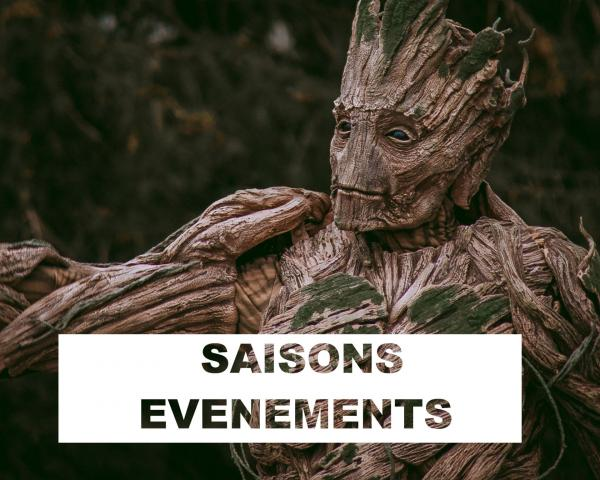 Saisons evenements