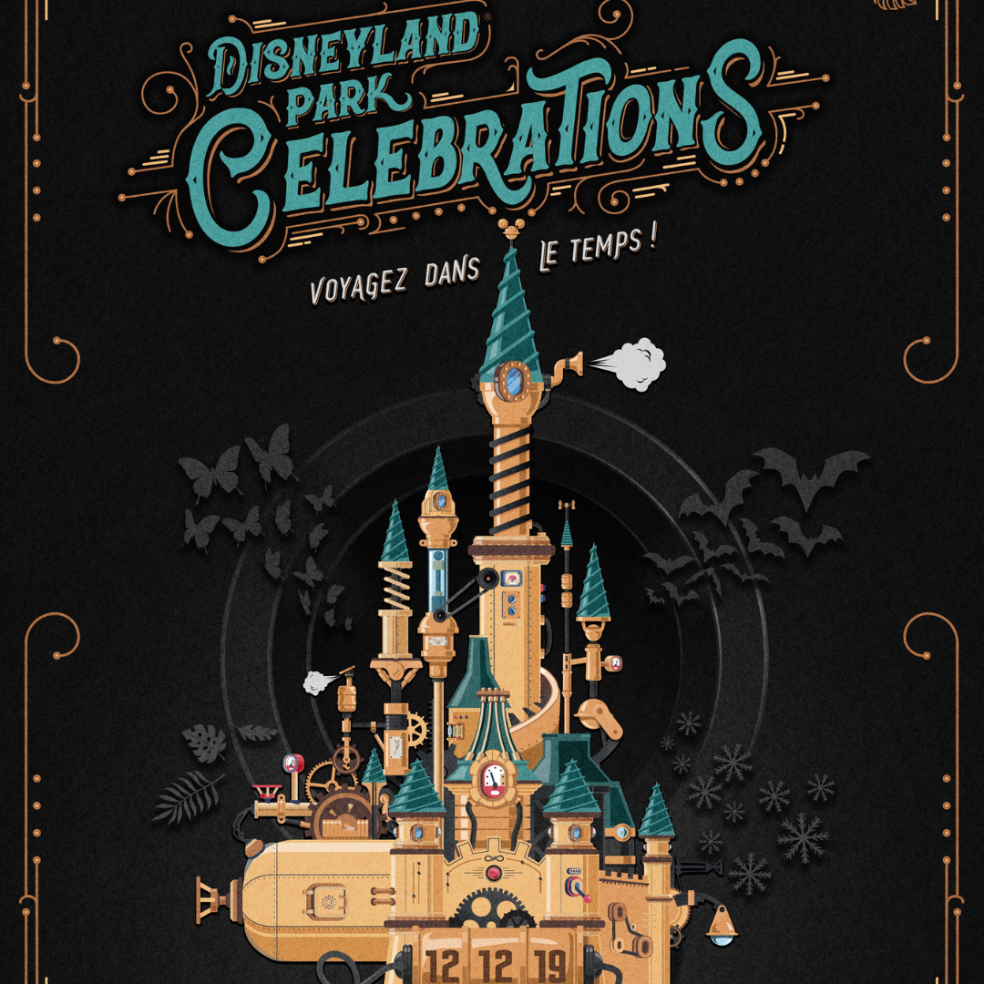 Soire e pass annuel disney disneyland park celebration