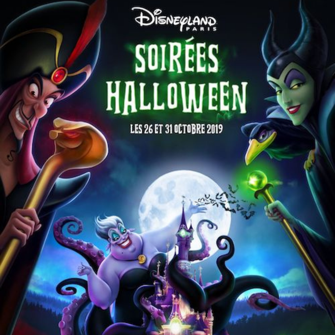 Soire es halloween disneyland paris edition 2019
