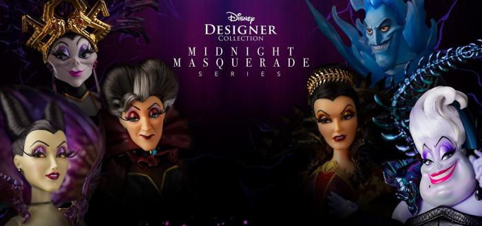 Vilains disney collection midnight masquerade disney designer