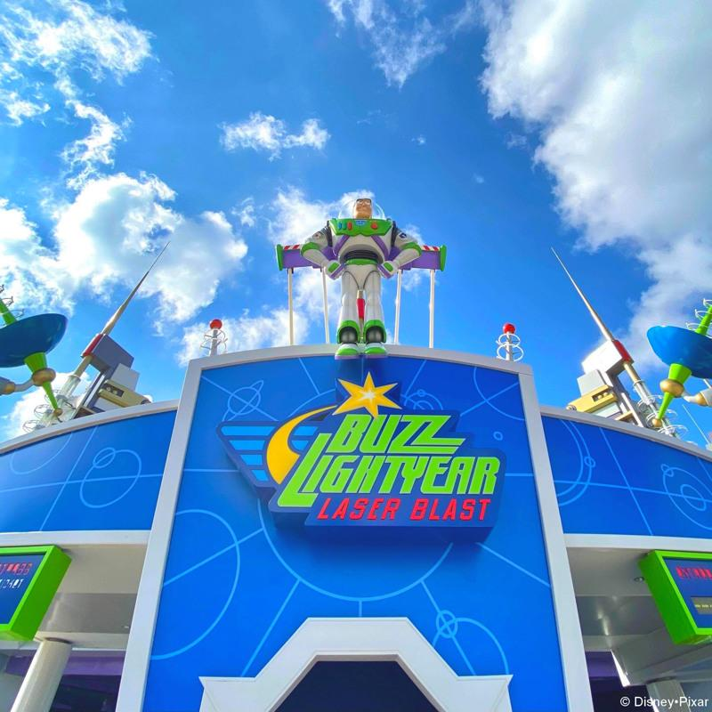 Buzz Lightyear Laser Blast Disney