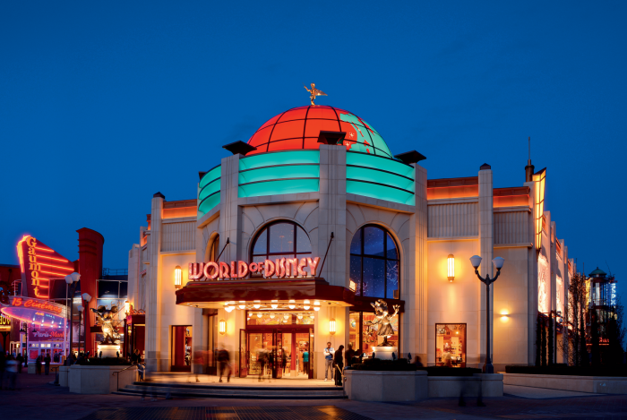 World of disney reouverture